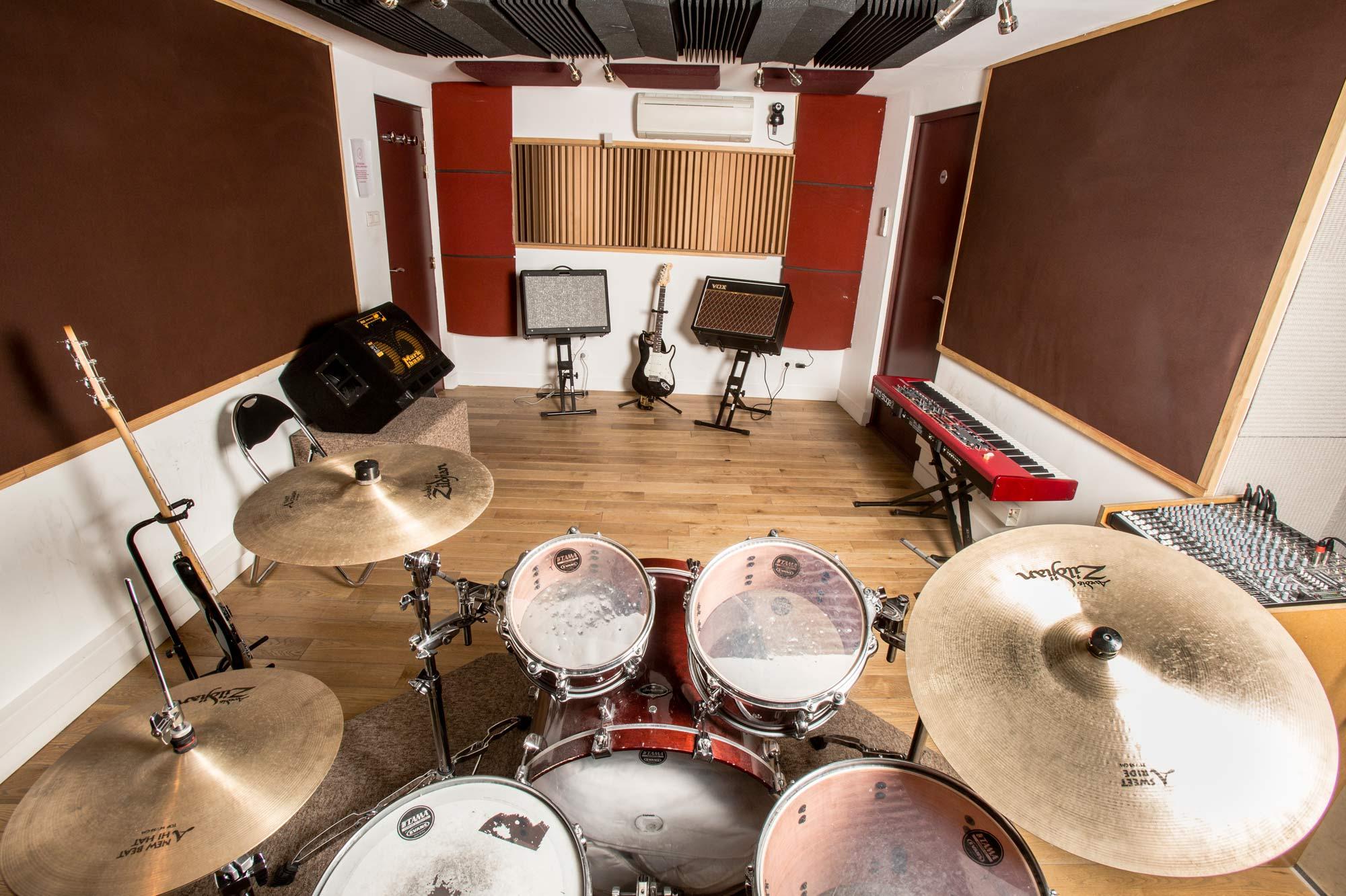 studios de r p tition paris tarifs hf music studio. Black Bedroom Furniture Sets. Home Design Ideas
